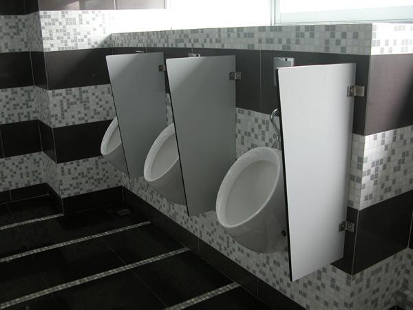 Vách ngăn vệ sinh compact