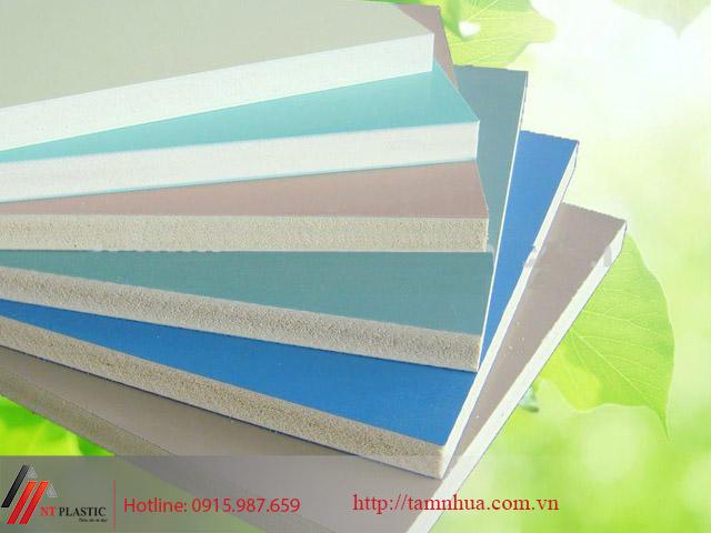 Tấm PVC đặc