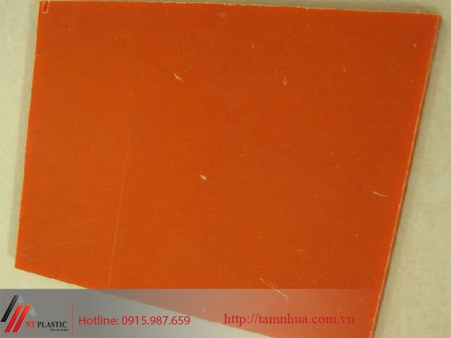 Tấm nhựa Bakelite màu cam