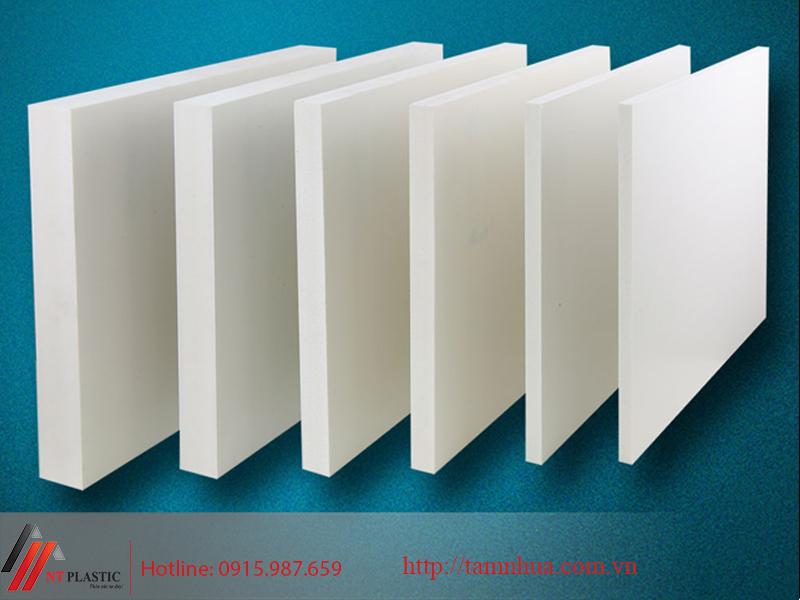 Tấm nhựa PVC Foam bền bỉ