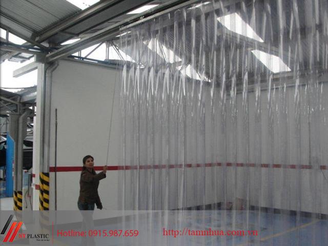 Màng nhựa PVC ngăn phòng lạnh