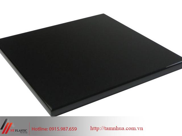 Tấm nhựa PP màu đen