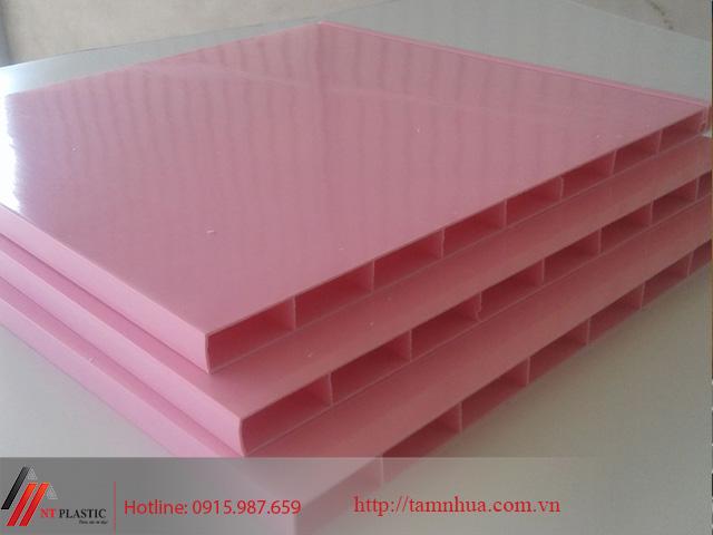 Tấm nhựa Đài Loan màu hồng