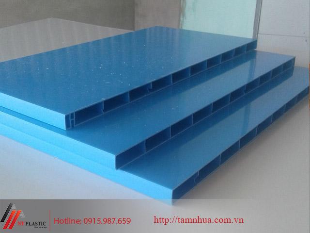 Tấm nhựa Đài Loan màu xanh