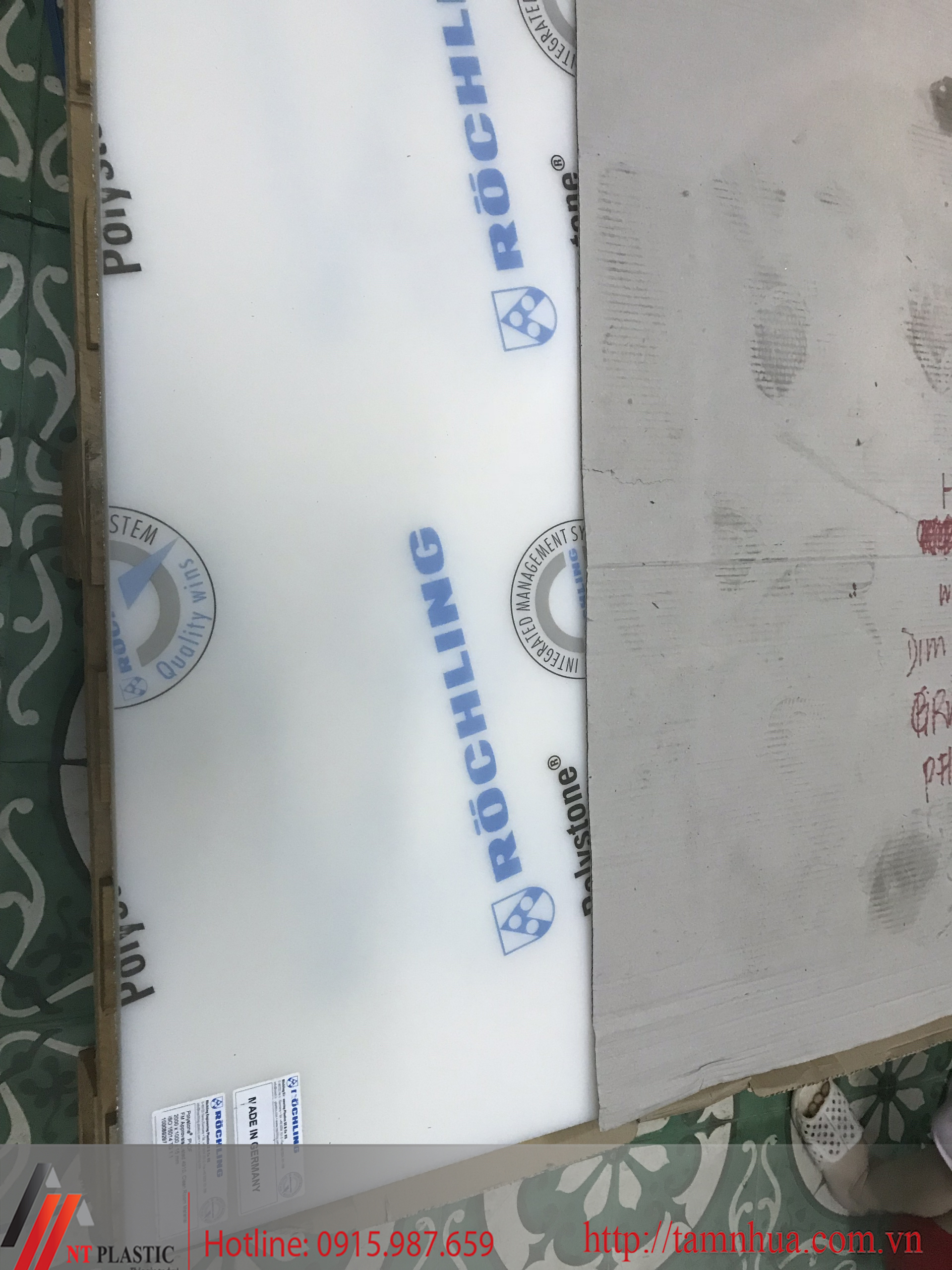 Tấm nhựa PVDF