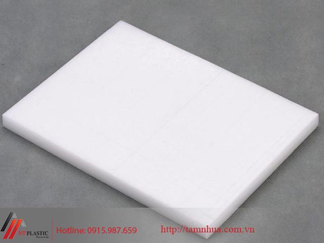 Tấm nhựa POM Hàn Quốc màu trắng