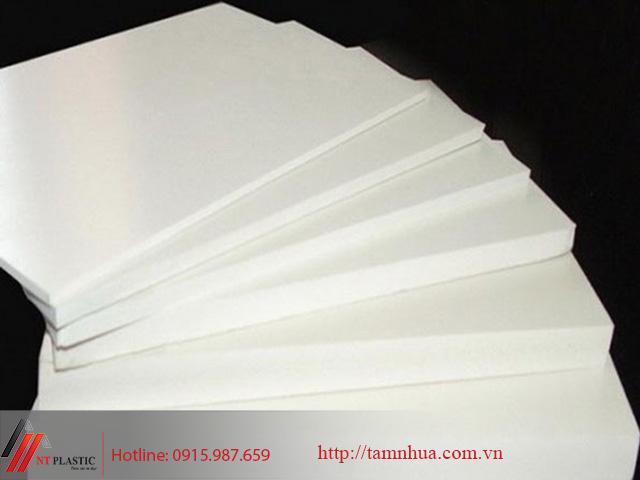 Tấm nhựa POM Trung Quốc màu trắng