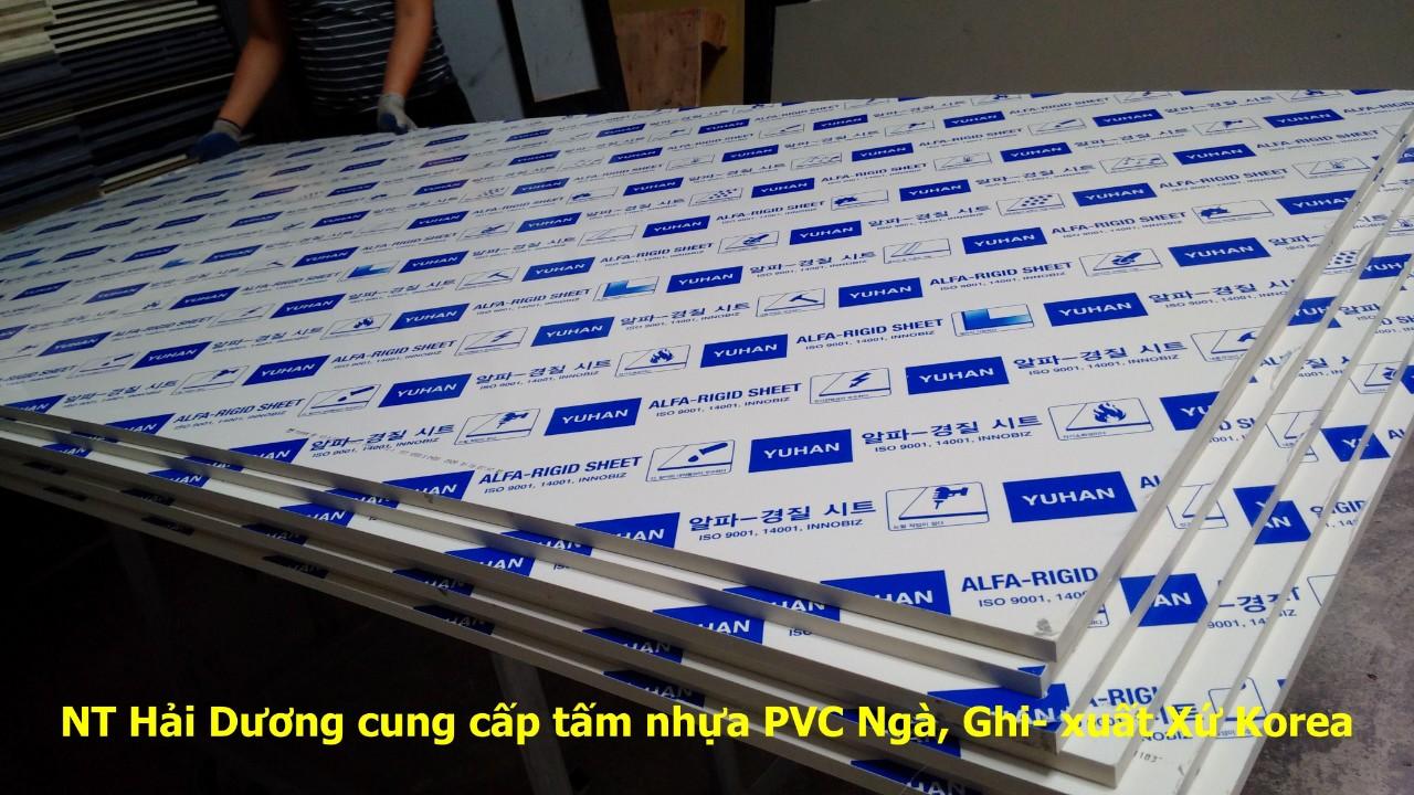 Nhựa PVC ghi hàn quốc